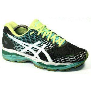 Asics Womens Gel-Nimbus 18 Gray Sneakers Size 11